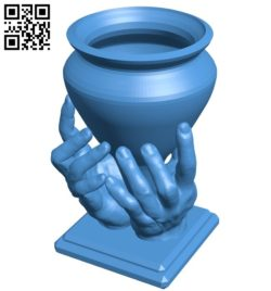 Hand World B006352 file stl free download 3D Model for CNC and 3d printer