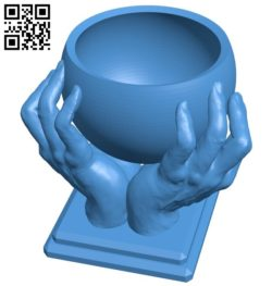 Hand World B006528 file stl free download 3D Model for CNC and 3d printer