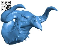 Head dragon trophy B006463 file stl free download 3D Model for CNC and 3d printer