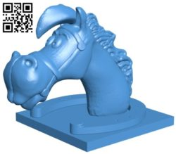 Horse B006358 file stl free download 3D Model for CNC and 3d printer