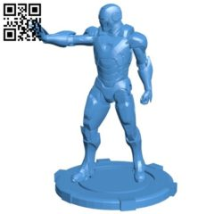 Iron Man B006333 download free stl files 3d model for 3d printer and CNC carving