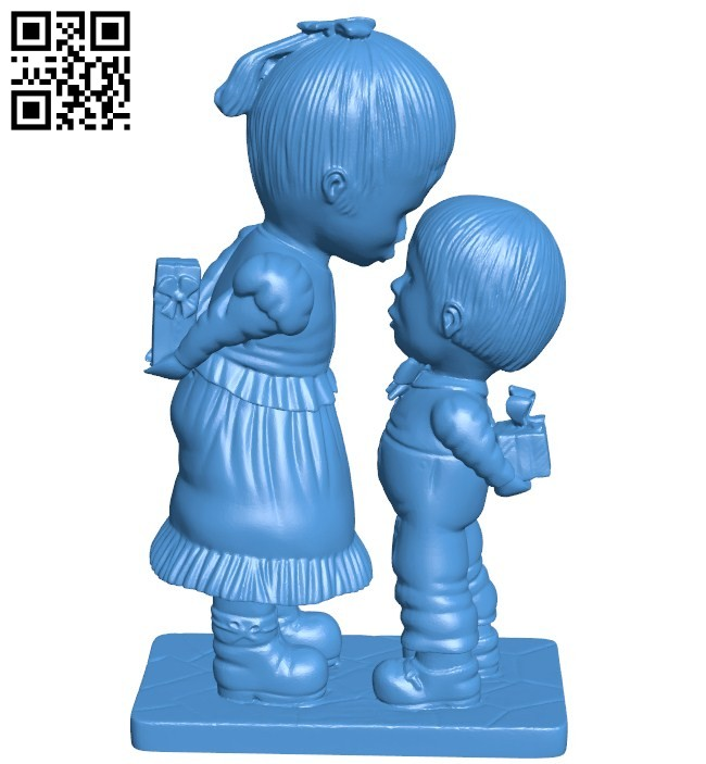 JG My Toy Boy B006469 file stl free download 3D Model for CNC and 3d printer