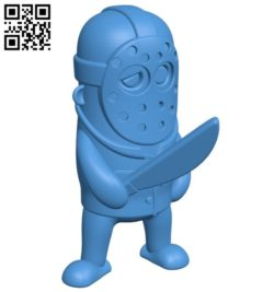 Jason B006454 file stl free download 3D Model for CNC and 3d printer