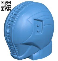 Kamen rider head B006524 file stl free download 3D Model for CNC and 3d printer