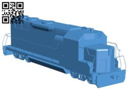 Locomotive B006588 file stl free download 3D Model for CNC and 3d printer