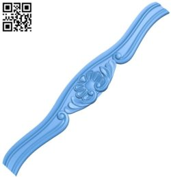 Long pattern A004497 download free stl files 3d model for CNC wood carving