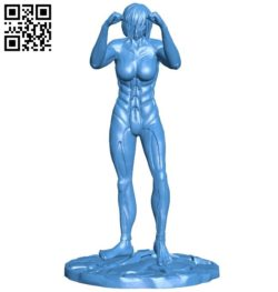 Miss AoT X Fem Fuller B006391 file stl free download 3D Model for CNC and 3d printer