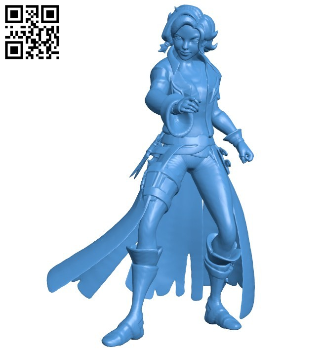 Miss Maeve socle B006458 file stl free download 3D Model for CNC and 3d printer