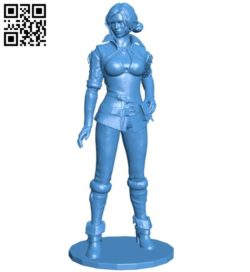 Miss Triss B006604 file stl free download 3D Model for CNC and 3d printer