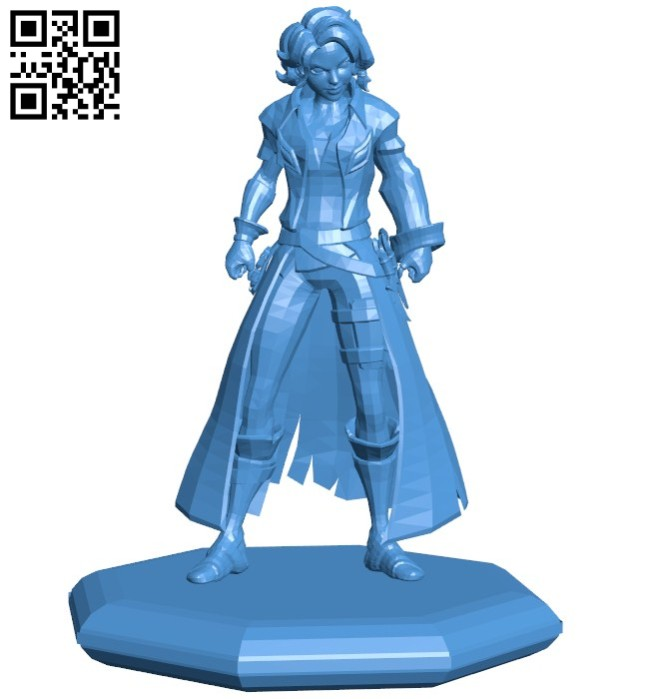 Miss maeve statue B006390 file stl free download 3D Model for CNC and 3d printer