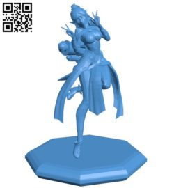 Miss ying statue B006495 file stl free download 3D Model for CNC and 3d printer