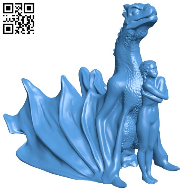 Mother of Dragons B006412 file stl free download 3D Model for CNC and 3d printer