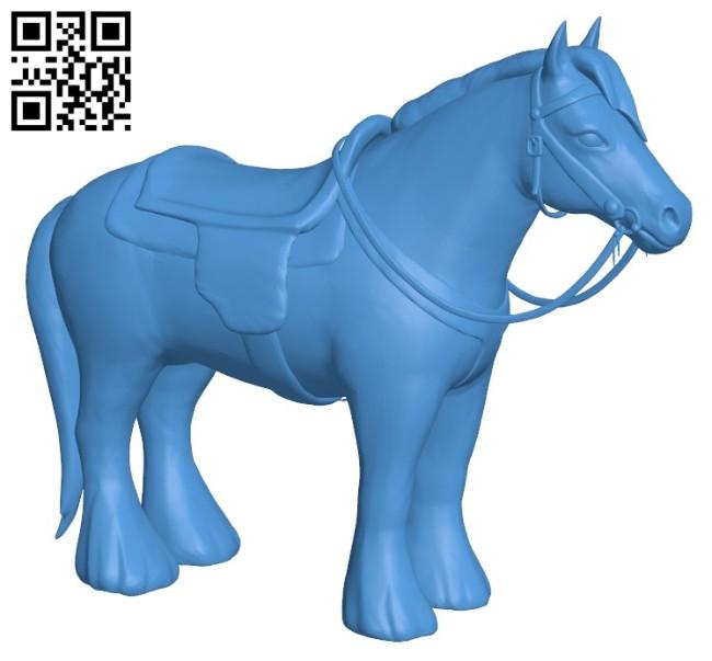 Mount Horse Standard B006430 file stl free download 3D Model for CNC and 3d printer