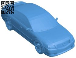 Nissan Altima car B006404 file stl free download 3D Model for CNC and 3d printer
