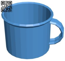 Old metal cup B006476 file stl free download 3D Model for CNC and 3d printer