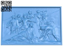 Panel Religion A004462 download free stl files 3d model for CNC wood carving