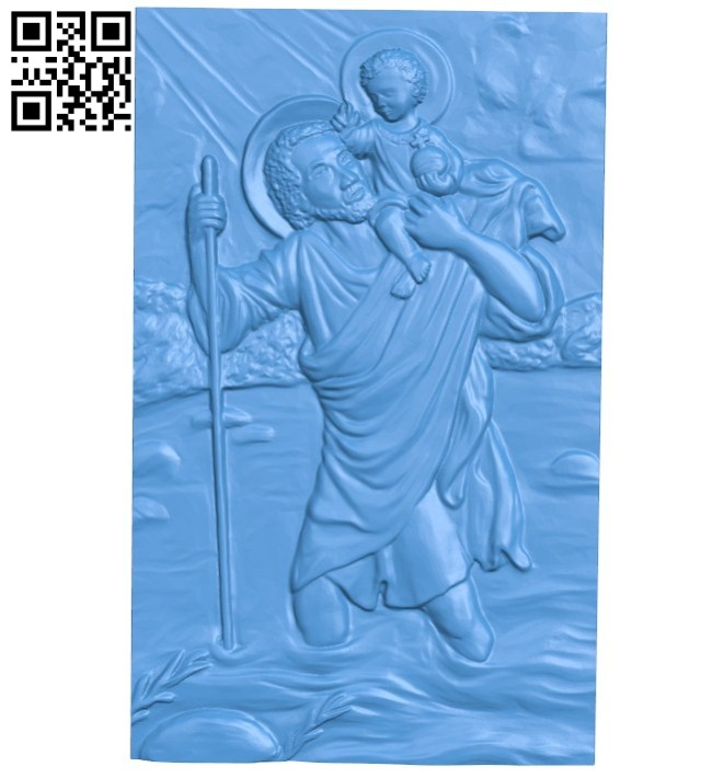 Panel Religion A004464 download free stl files 3d model for CNC wood carving
