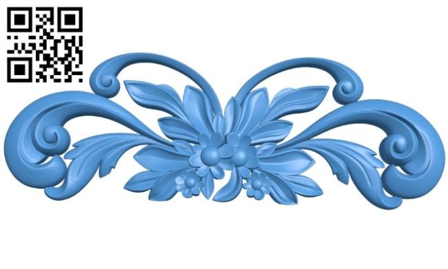 Pattern decor design A004410 download free stl files 3d model for CNC wood carving