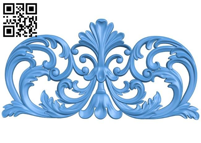 Pattern decor design A004426 download free stl files 3d model for CNC wood carving