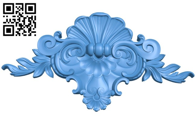 Pattern decor design A004427 download free stl files 3d model for CNC wood carving