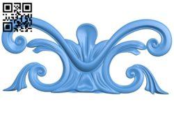 Pattern decor design A004441 download free stl files 3d model for CNC wood carving