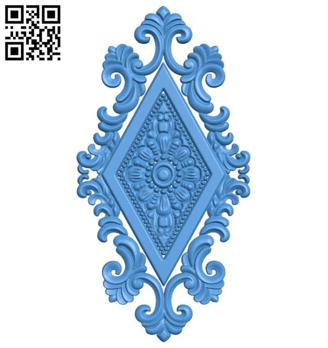 Pattern decor design A004448 download free stl files 3d model for CNC wood carving