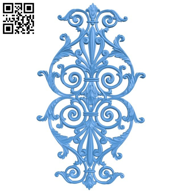 Pattern decor design A004450 download free stl files 3d model for CNC wood carving