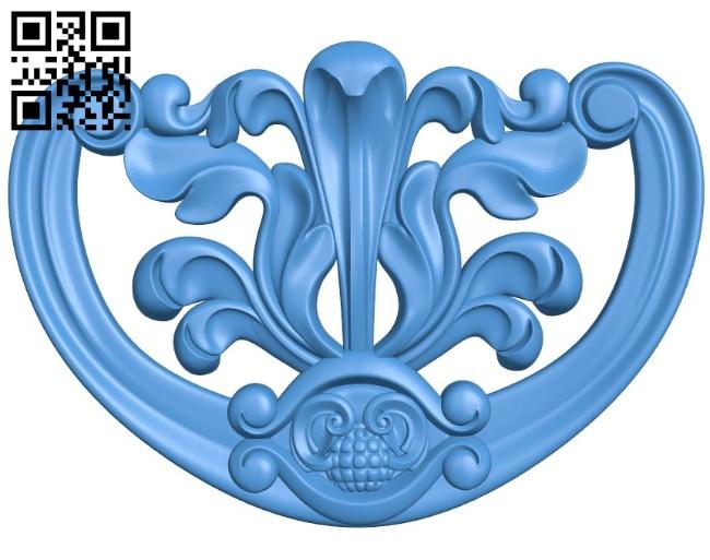 Pattern decor design A004457 download free stl files 3d model for CNC wood carving