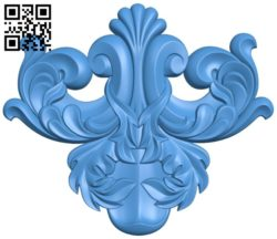 Pattern decor design A004507 download free stl files 3d model for CNC wood carving