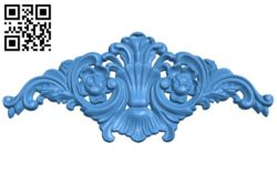 Pattern decor design A004508 download free stl files 3d model for CNC wood carving