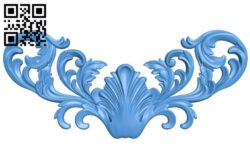 Pattern decor design A004513 download free stl files 3d model for CNC wood carving