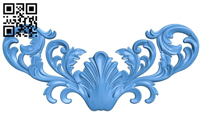 Pattern decor design A004512 download free stl files 3d model for CNC wood carving