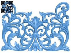 Pattern decor design A004514 download free stl files 3d model for CNC wood carving
