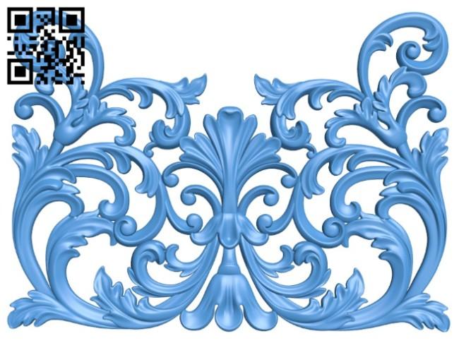 Pattern decor design A004514 download free stl files 3d model for CNC wood carving