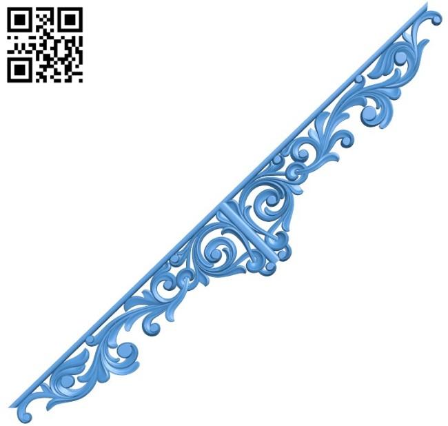 Pattern decor design A004515 download free stl files 3d model for CNC wood carving