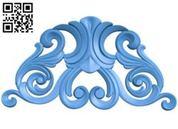Pattern decor design A004524 download free stl files 3d model for CNC wood carving