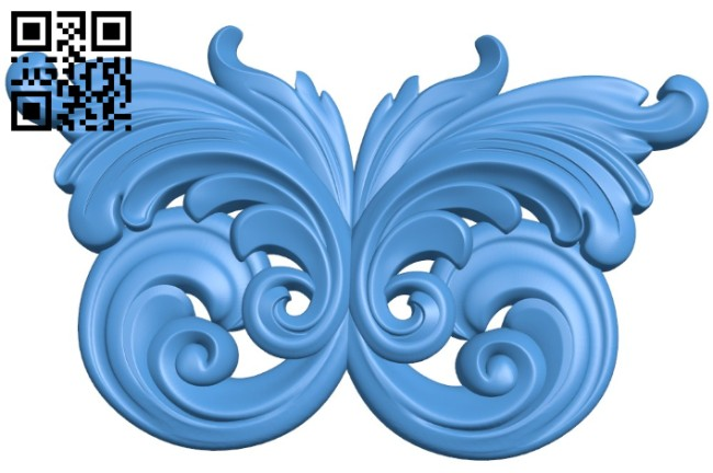 Pattern decor design A004536 download free stl files 3d model for CNC wood carving