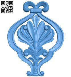 Pattern decor design A004537 download free stl files 3d model for CNC wood carving