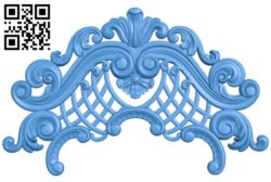 Pattern decor design A004539 download free stl files 3d model for CNC wood carving