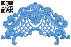 Pattern decor design A004539 download free stl files 3d model for CNC wood carving