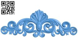 Pattern decor design A004540 download free stl files 3d model for CNC wood carving