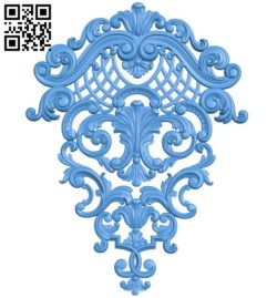 Pattern decor design A004543 download free stl files 3d model for CNC wood carving