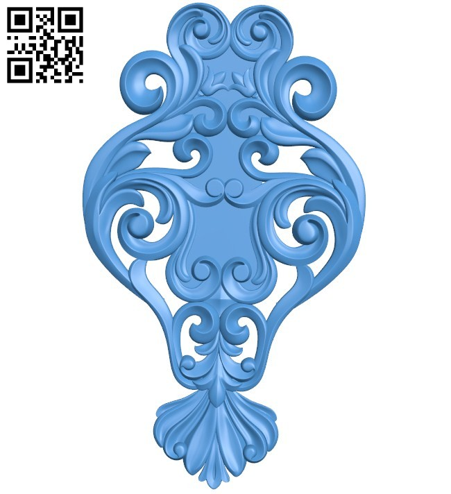Pattern decor design A004544 download free stl files 3d model for CNC wood carving