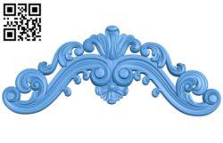 Pattern decor design A004545 download free stl files 3d model for CNC wood carving
