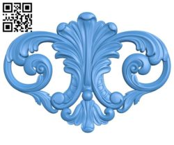 Pattern decor design A004547 download free stl files 3d model for CNC wood carving