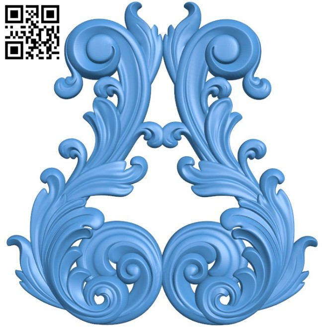 Pattern decor design A004550 download free stl files 3d model for CNC wood carving