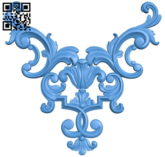 Pattern decor design A004560 download free stl files 3d model for CNC wood carving