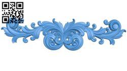 Pattern decor design A004561 download free stl files 3d model for CNC wood carving