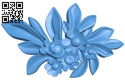 Pattern dekor flower A004428 download free stl files 3d model for CNC wood carving