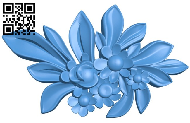 Pattern Dekor Flower A004428 Download Free Stl Files 3d Model For Cnc Wood Carving Download Free Stl Files